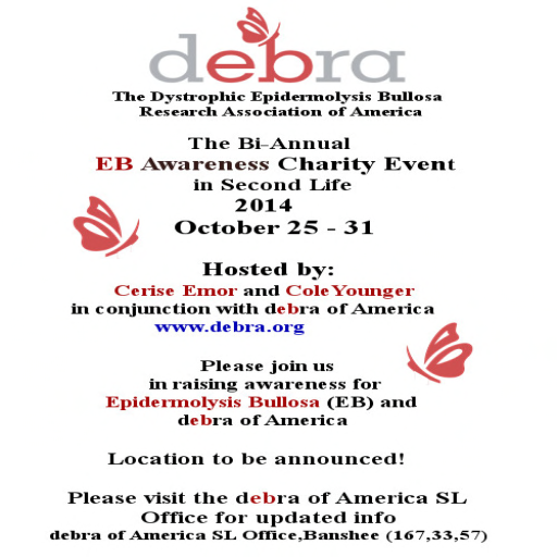 debra For Charity - Opens October 25