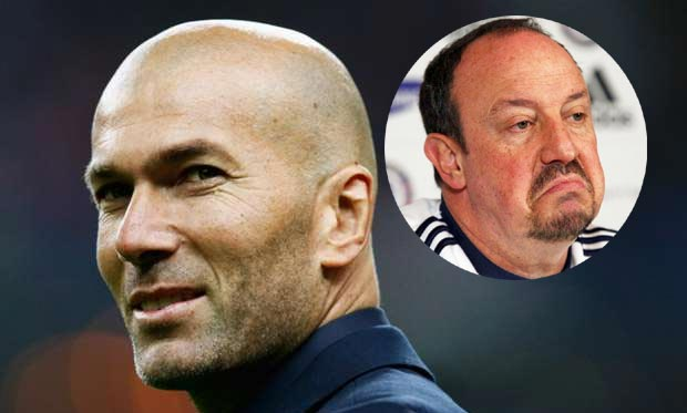 Real Madrid Confirm Sacking Of Benitez, Appoints Zidane As Manager