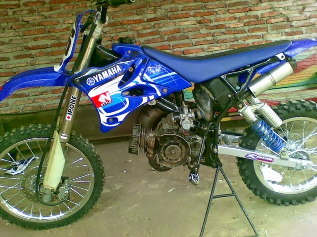Modifikasi Mesin Yamaha Fiz
