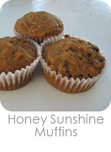 Honey Sunshine Muffins