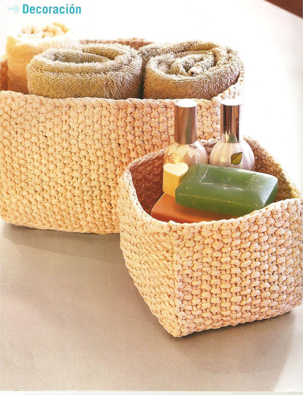 Ba l manualidades accesorios tejidos para decorar en casa for Accesorios para decorar la casa