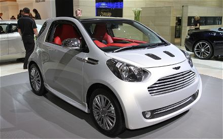 Aston Martin on Aston Martin Cygnet In Motor Show