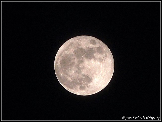 Księżyc nad Olsztynem
