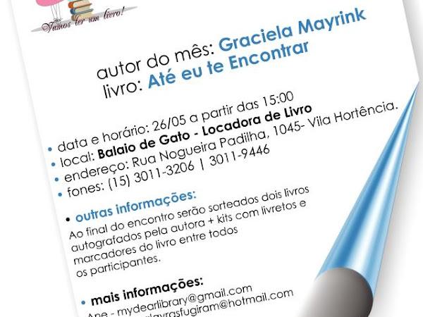 3º Encontro do Clube do Livro de Sorocaba com Graciela Mayrink
