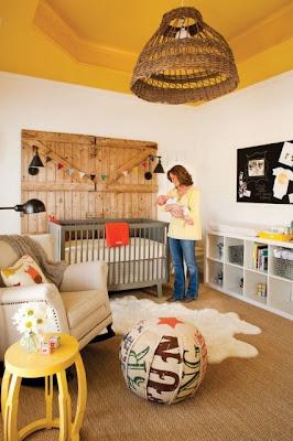Modern Rustic Nursery