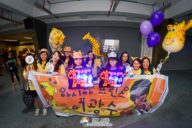 Kwang Soo fans all the way from Hong Kong =D Lee Kwang Soo Fan Meeting in Malaysia