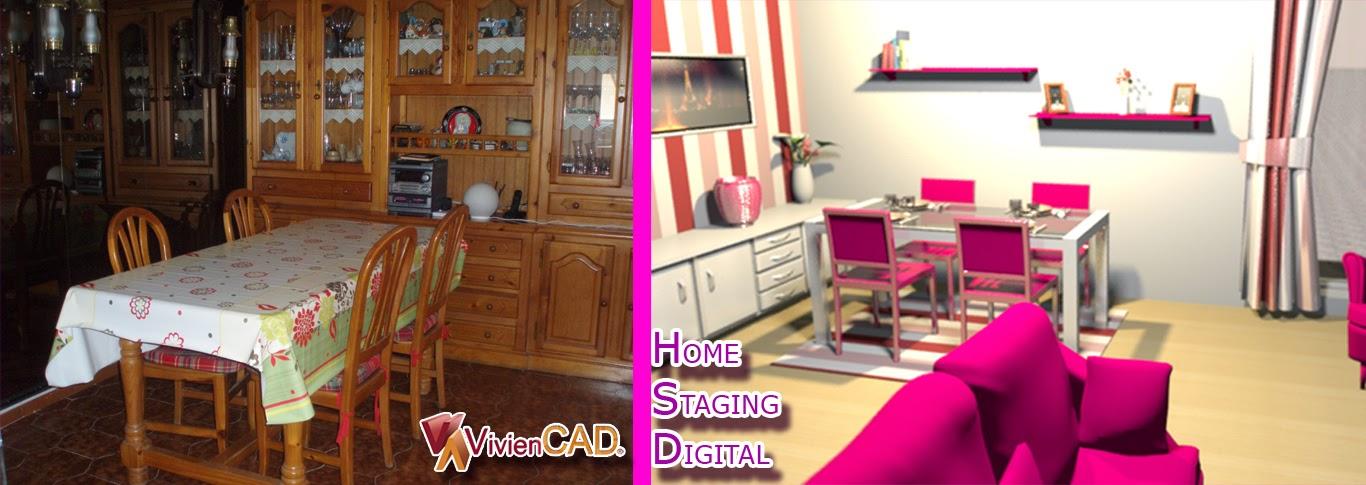 HOME STAGING DIGITAL VIVIENCAD