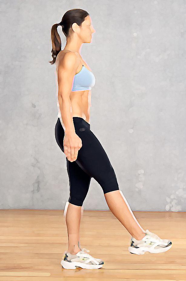 ejercicio fácil contra la celulitis