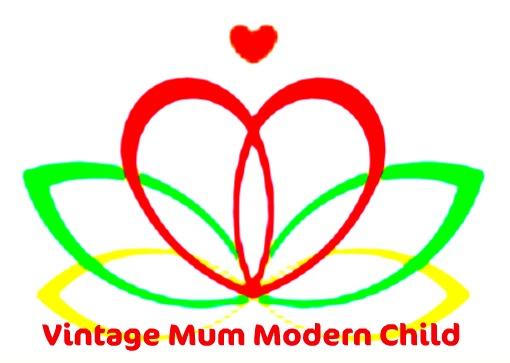 Vintage Mum Modern Child