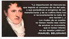 Manuel Belgrano, adelantado
