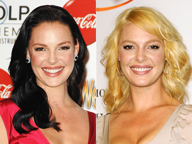 Katherine Heigl Hair Color