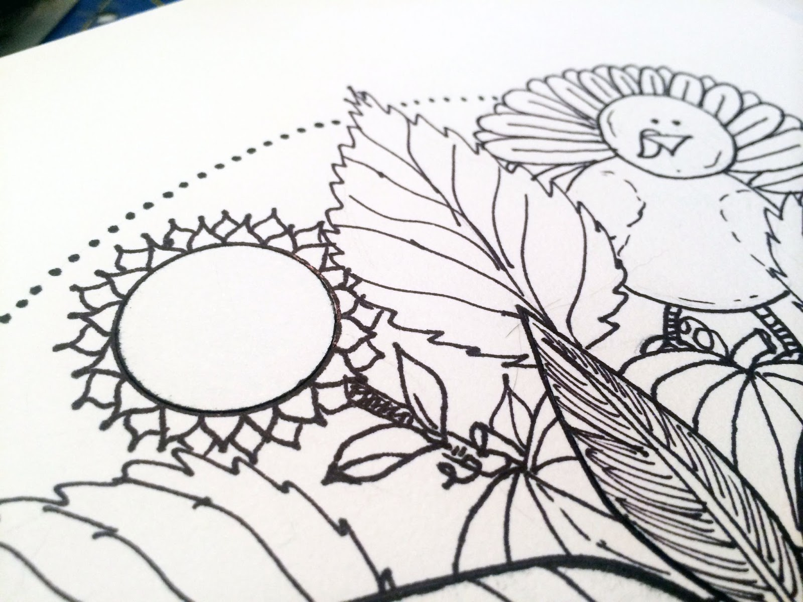 Thanksgiving mandala coloring pages - You Ll Notice As You Color That My Lines Are Not Perfect You Ll Notice A Few Lines That Could Have Been Smoother But Honestly This Is The Thing I Love