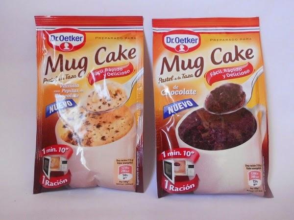 DR OETKER MUG CAKE