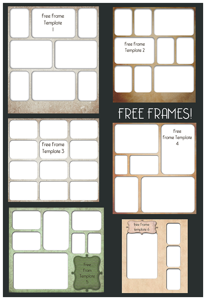 All Things Precious Photography Free Frame Template