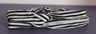 Headband blanc et noir Aliexpress