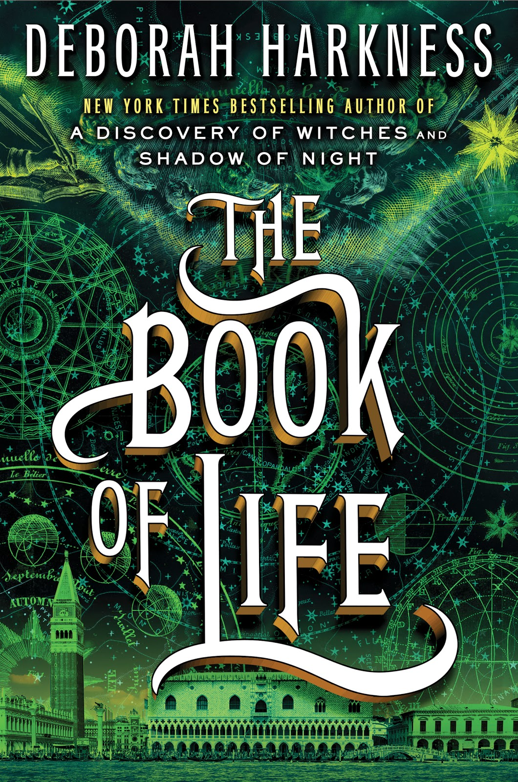 Cover Reveal of The Book of Life (All Souls Trilogy by Deborah Harkness