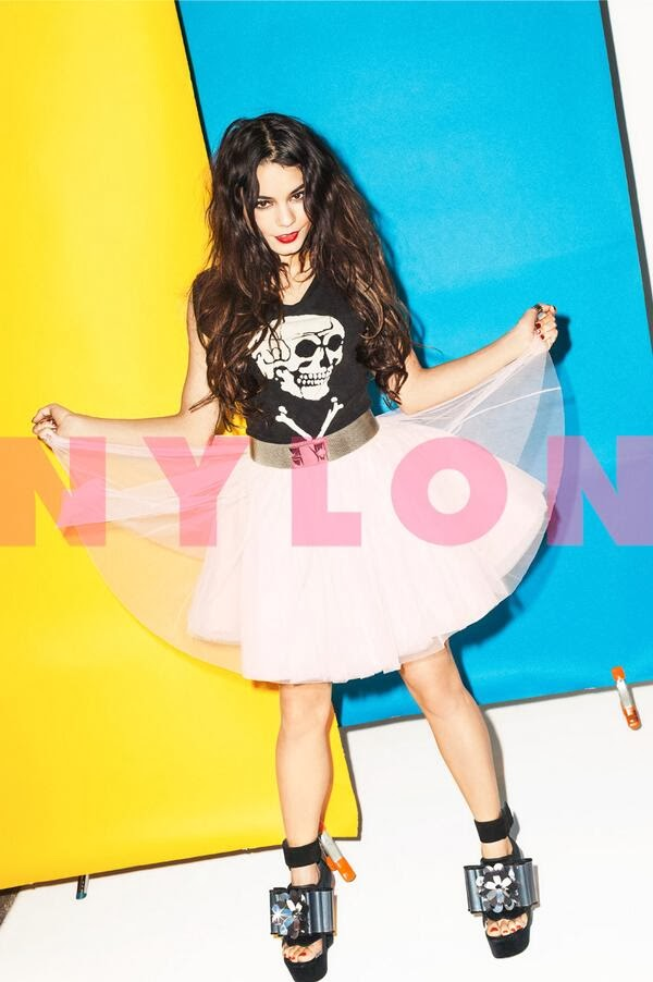Vanessa Hudgens – Nylon Magazine (February 2014)