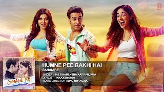 Humne Pee Rakhi Hai Song Lyrics