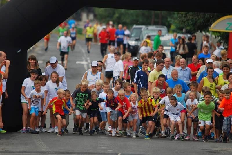 Bieg w Nowej Wsi - czyli bieganie w sierpniu na krótkie dystanse