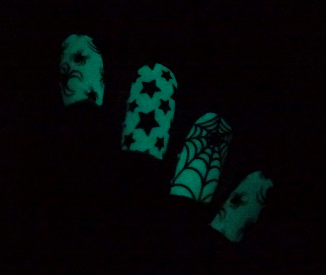 Thumbs Up Nail Wraps Midnight Party