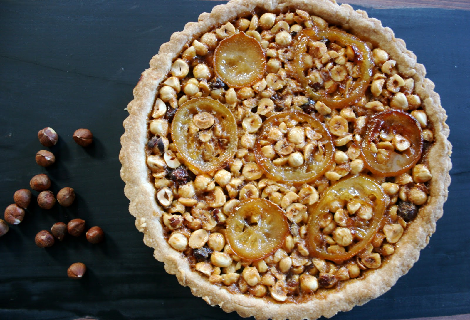 Nothing in the House: Lemon-Hazelnut Tart