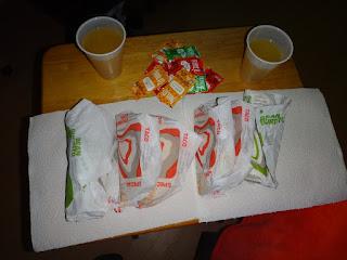 jantar no taco bell's - tacos e burritos