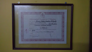 1.-Diploma de licenciado en ciencias Jurídicas de Franco Gonzalez Fortunatti