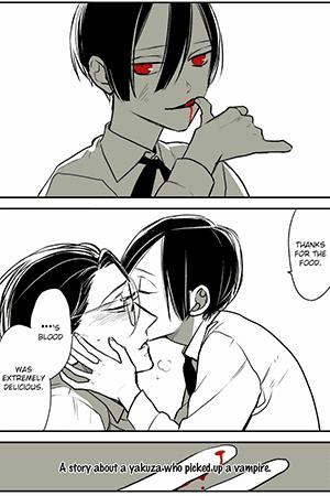 A story about a yakuza who picked up a Vampire Manga