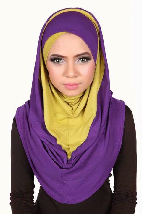Modele foulard pour femme voilee