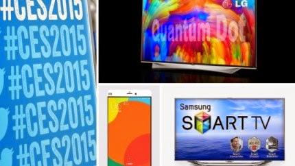παίκτες, τα νεότερα Smartphones παρουσιάζονται στην έκθεση CES.