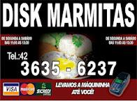 Disk marmita Carlinho Laçador