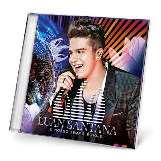 SOM LIVRE CD LUAN SANTANA  O  2005423 1 400 CD Luan Santana   O Nosso Tempo É Hoje   2013