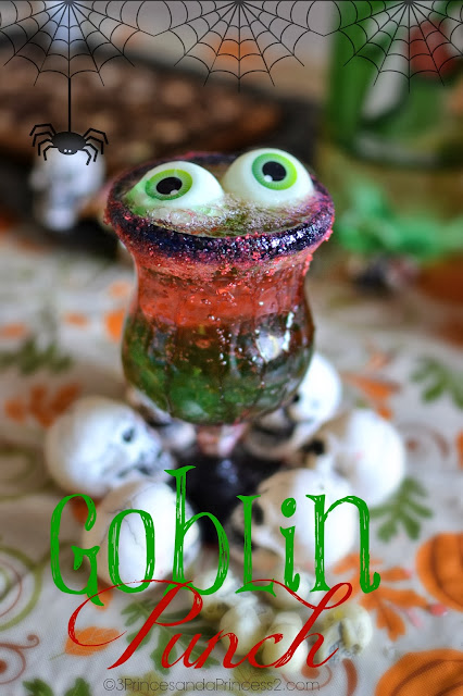 Goblin Punch #Recipe #Halloween #SpookyCelebration #Shop #Cbias