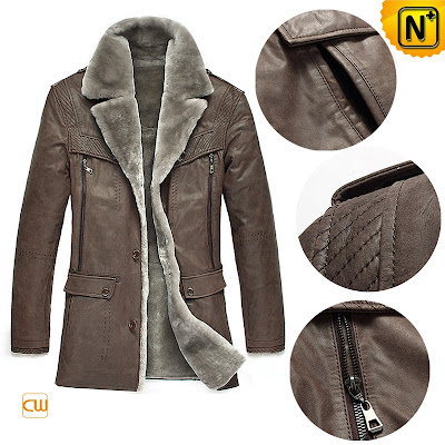 Luxurious Shearling Fur Coat