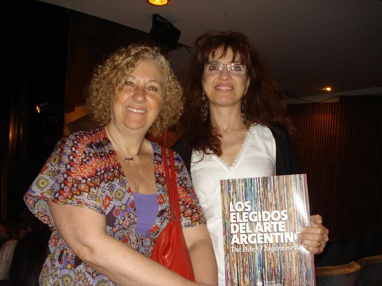 Libro Los elegidos del arte Argentino año 2012