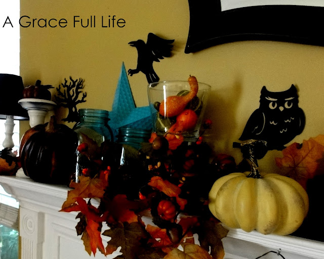 Fall Mantel 2011