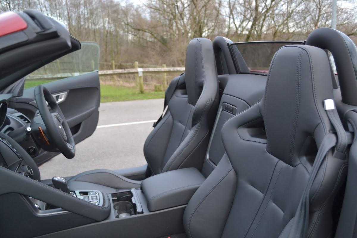 2014 Jaguar F-Type V8 S Convertible interior