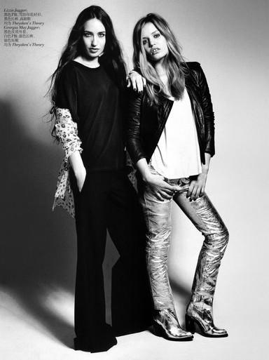 Sky Ferreira And Cara Delevingne