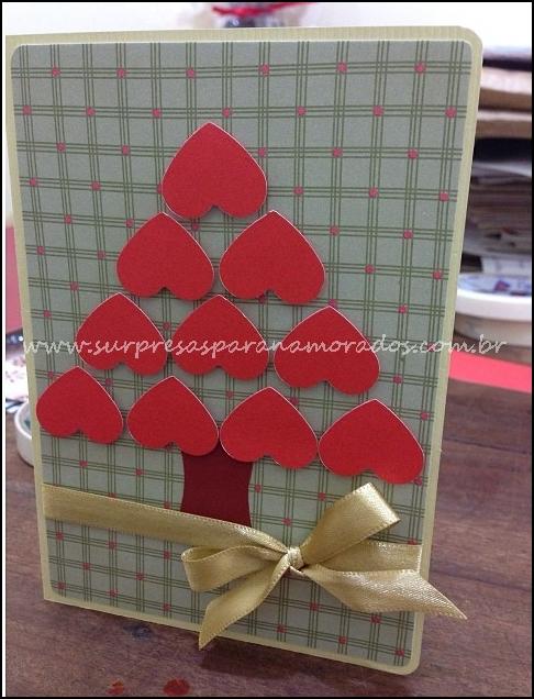 cartão de natal para namorado