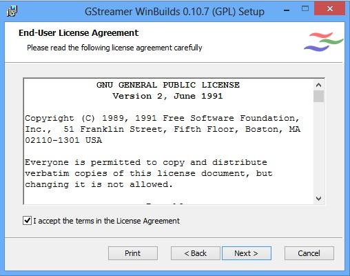 how to use gstreamer windows