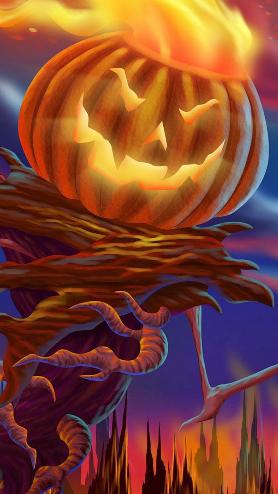 iPhone 6 Plus Halloween Wallpaper