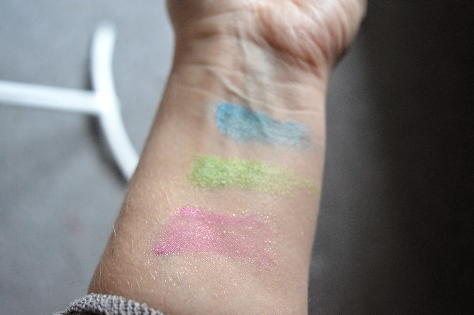 sugarpill swatches