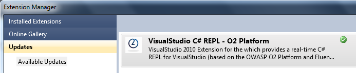 VisualStudio Extension