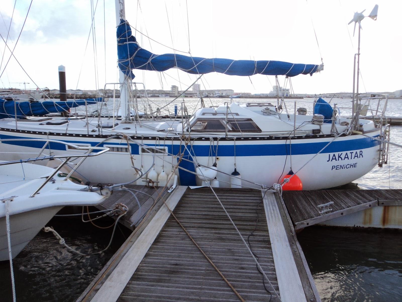 Marina storm preparations