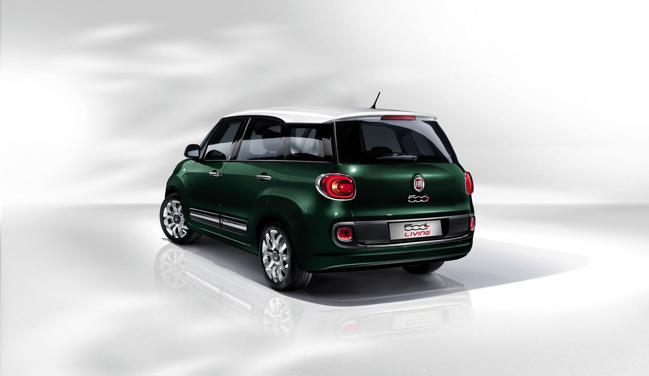 fiat 500l living the new model of the 500 family. Black Bedroom Furniture Sets. Home Design Ideas
