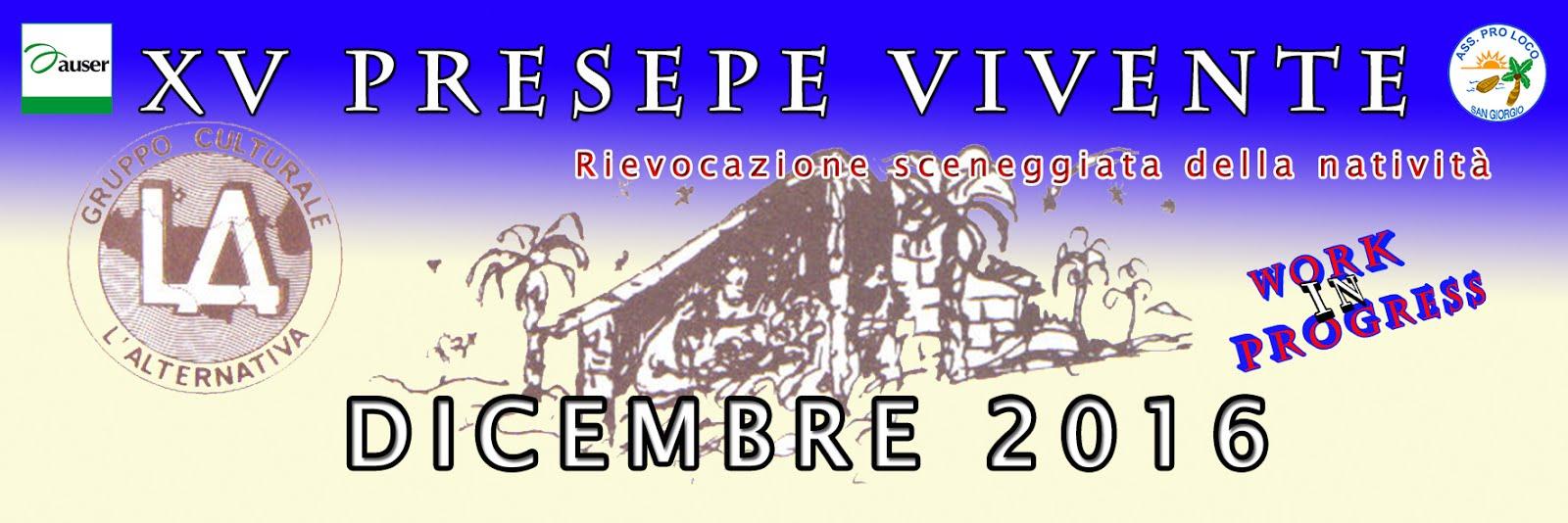 XV PRESEPE VIVENTE
