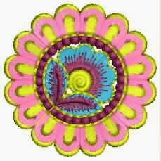 blom patroon katoen quilt