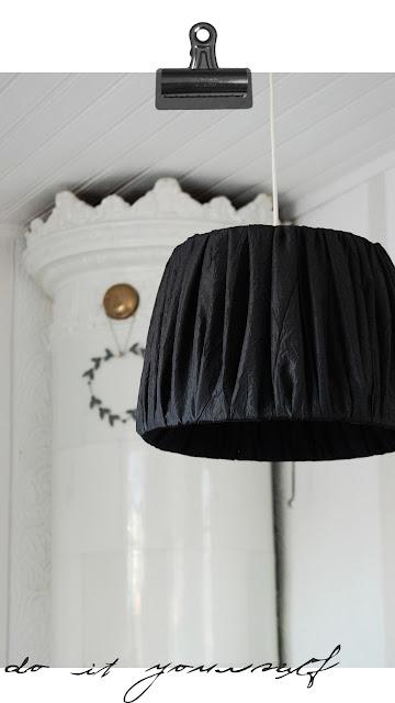 diy, lampskärm, do it yourself