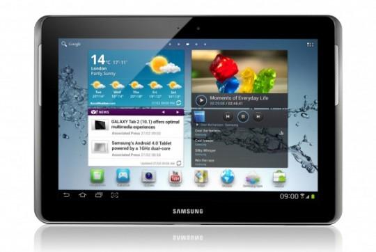 black color Samsung Galaxy Tab 2 10.1 P5100