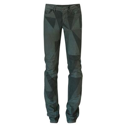 drkshdw rick owens palm camo print jeans pants